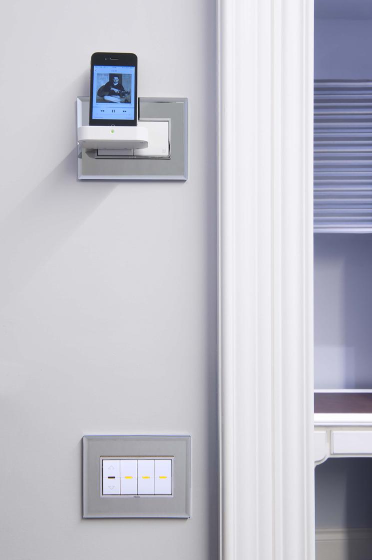 Residenza privata siena vimar energia positiva for Vimar domotica