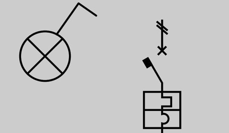 Simboli cei per la progettazione di impianti elettrici for Dwg simboli elettrici