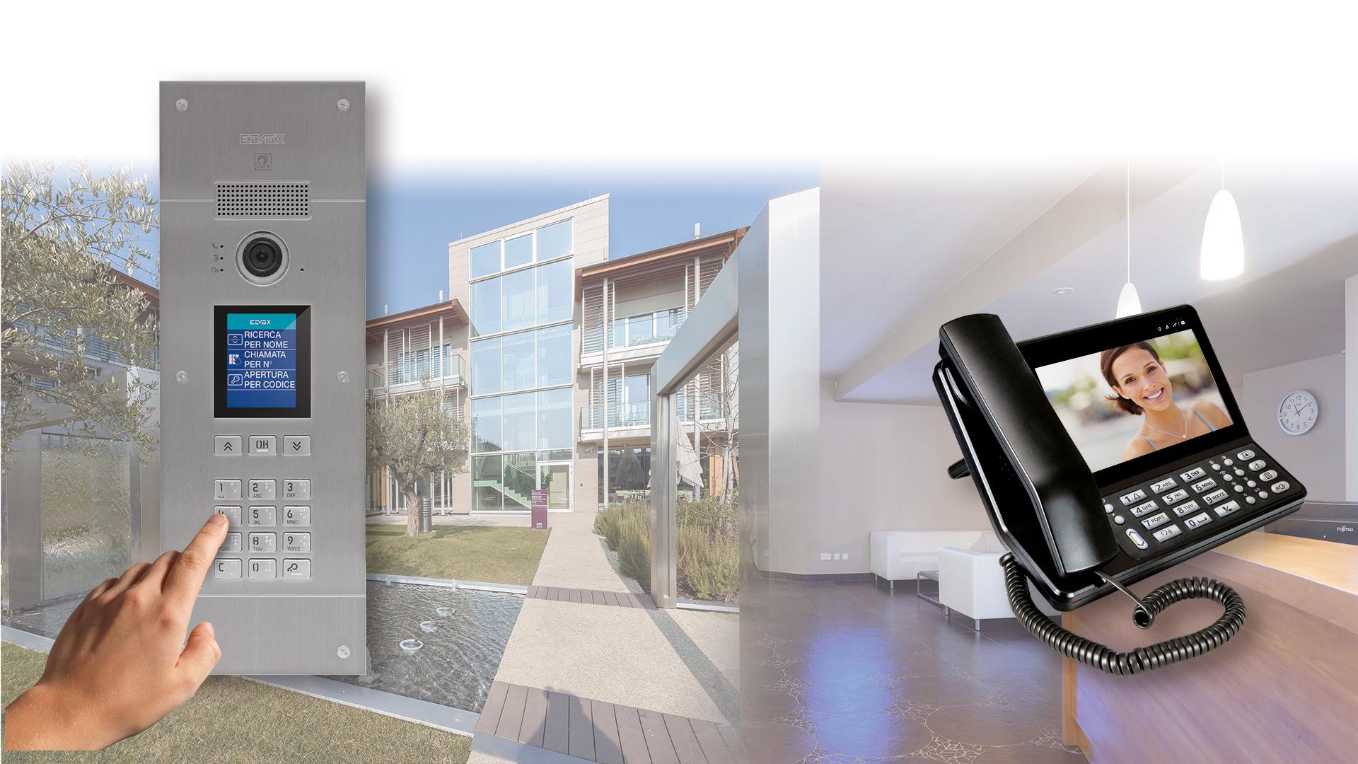 Ricerca Per Immagini Mobile sip video door entry system - vimar energia positiva