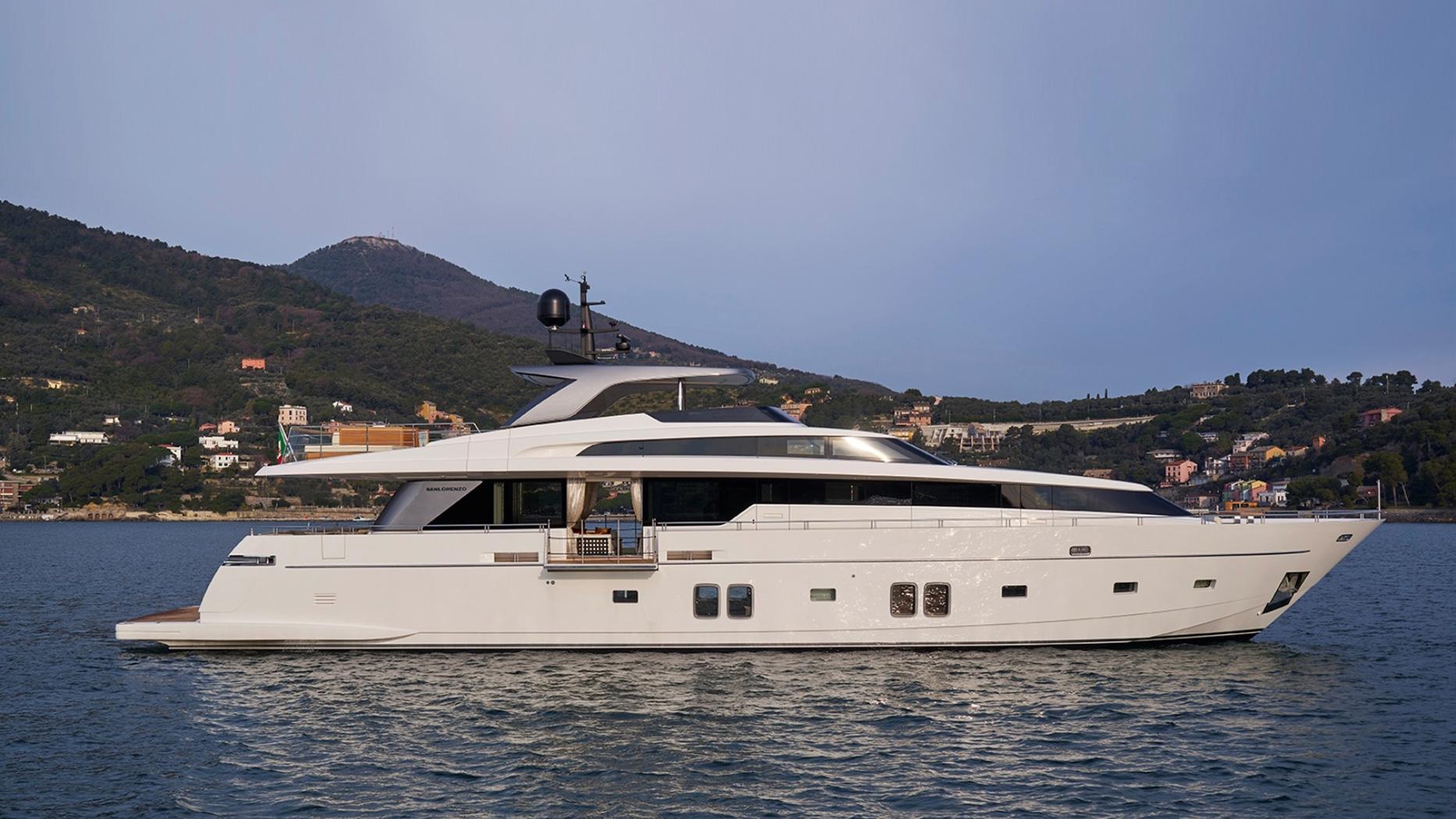 Yacht sanlorenzo 106 vimar energia positiva