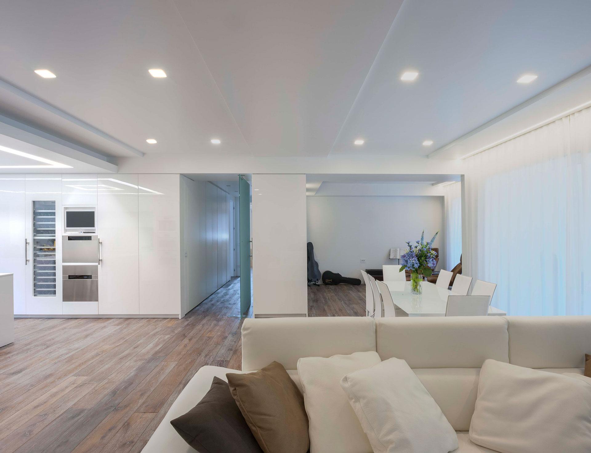 Lampadari Per Salone Moderno : Illuminazione Living Cucina: Lampadari ...