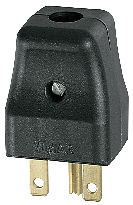 VIMAR 00231B Vimar Spine e prese Spina 2P+T 16A S31 assiale bianco