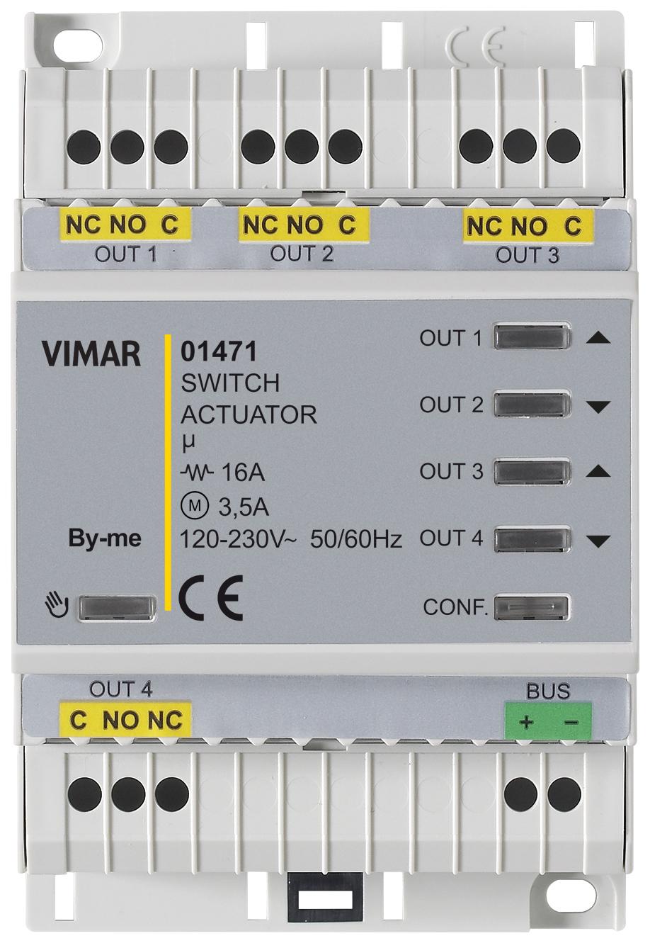 Schema Elettrico Domotica : Domotica componenti attuatore domotico multifunz out relè