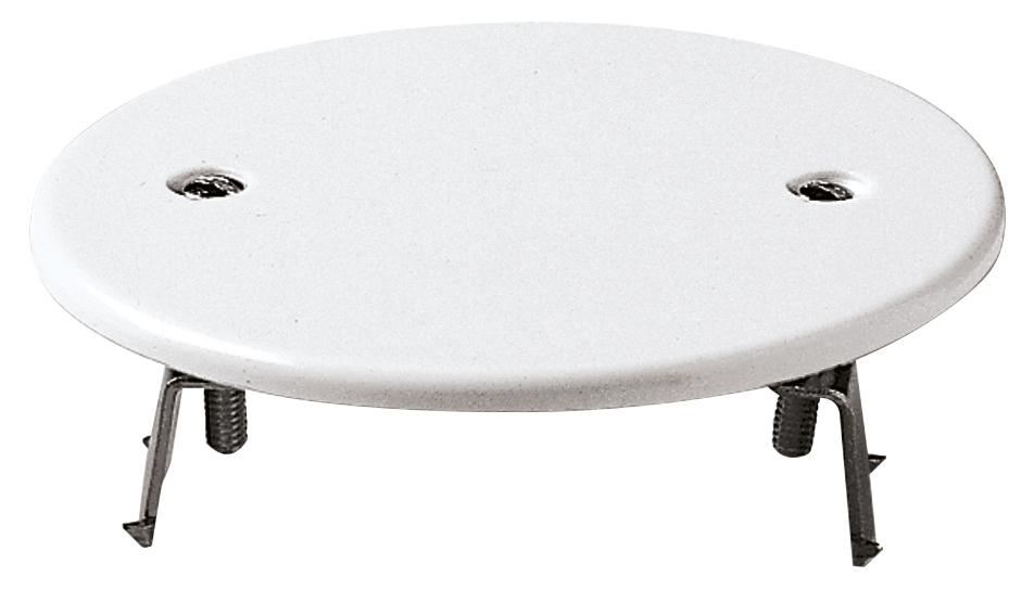 Coperchi: coperchio rotondo ø76mm  griffe bianco   02645 ...
