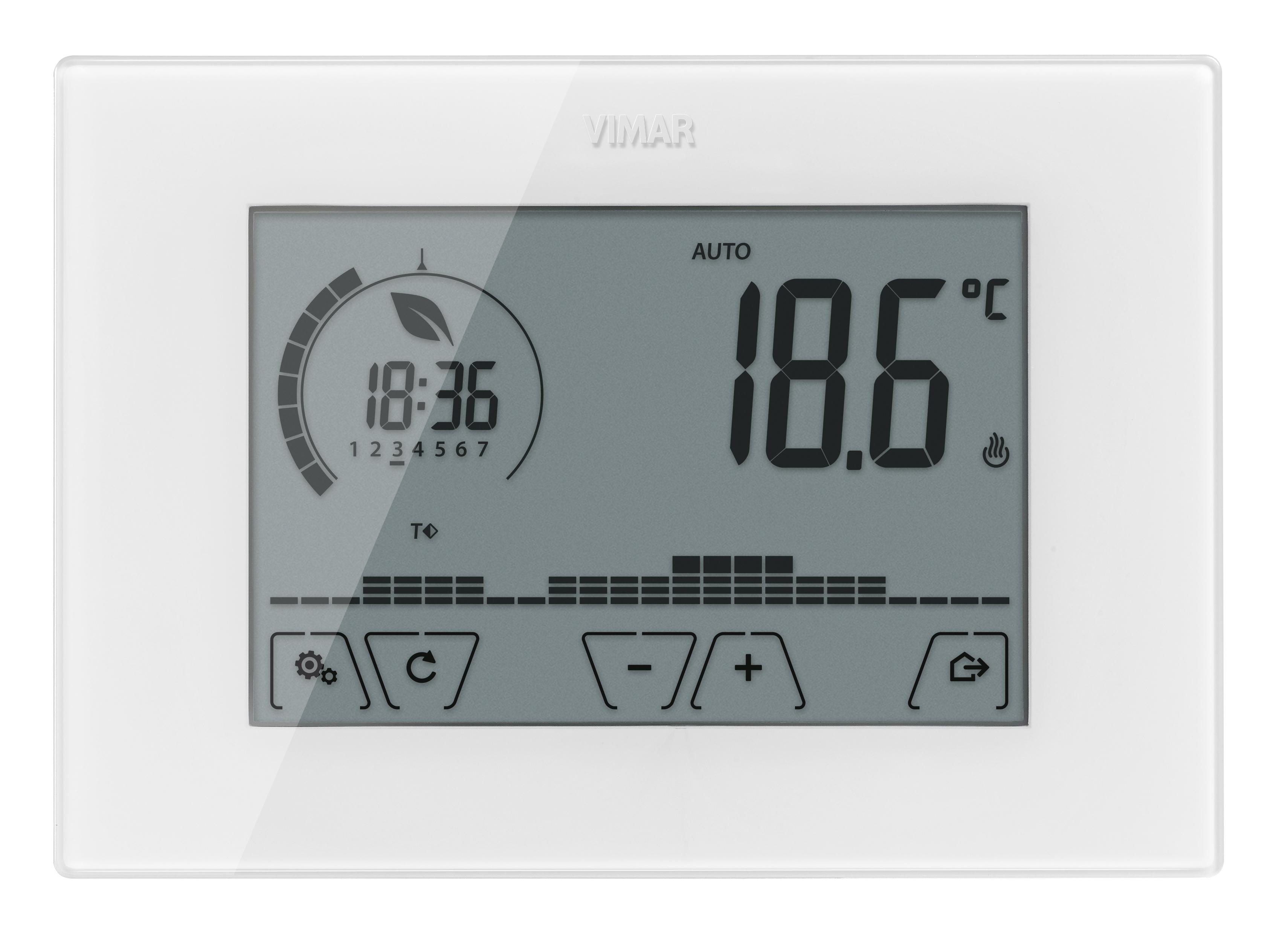 Comfort clima avanzato cronotermostato touch parete batt for Cronotermostato vimar 01910 manuale istruzioni