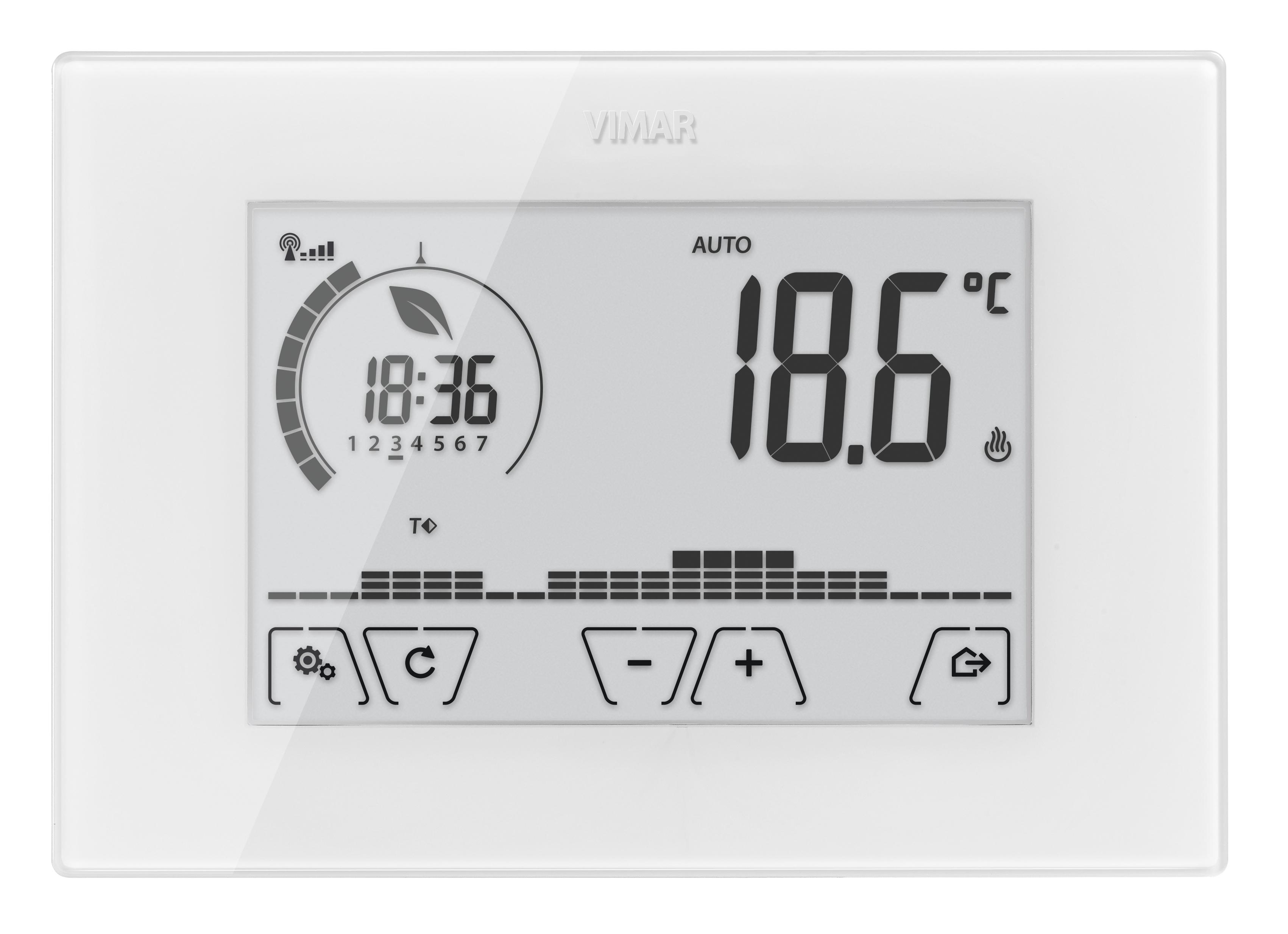 Comfort clima avanzato cronotermostato touch wifi parete for Termostato solaris