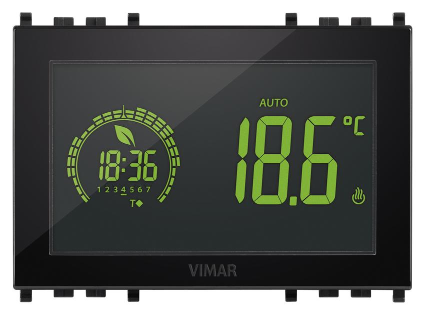 Comfort clima avanzato cronotermostato touch 3m 120 230v for Termostato touchscreen gsm vimar 02906