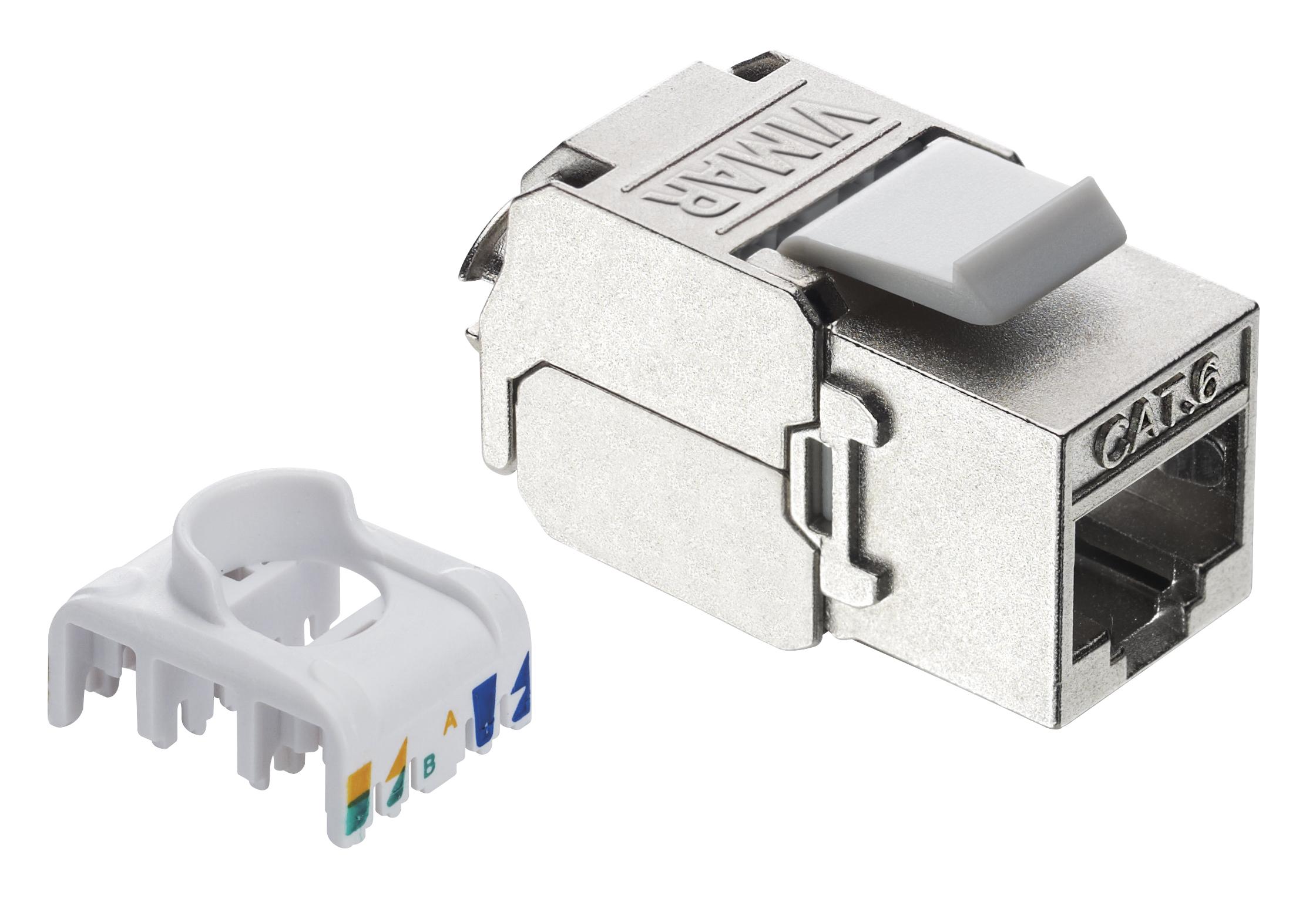 Schema Cablaggio Rj45 Cat 6 : Catalogo prodotti prese di segnale rj edp connettore rj