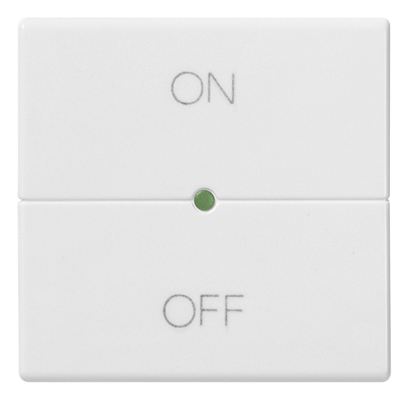 Domotics - devices: Button 2M ON/OFF symbols white - 14532.20 ...