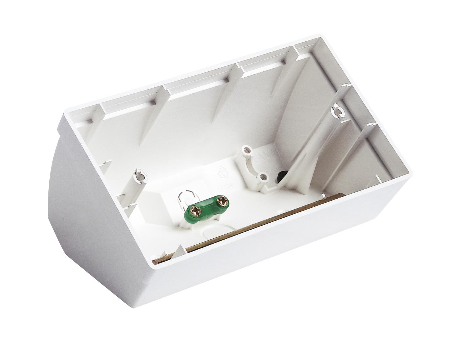 Da tavolo scatola da tavolo 4m bianco 14784 plana - Scatola portafrutti da tavolo ...