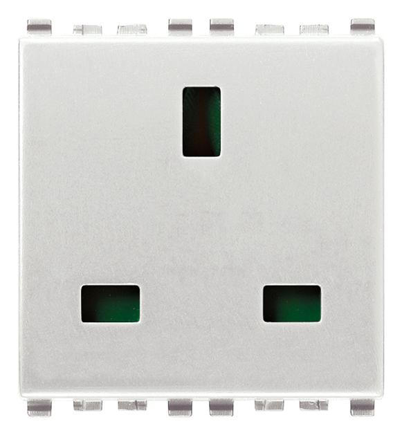 Prese di corrente standard internazional presa sicury 2p - Interruttori elettrici vimar ...