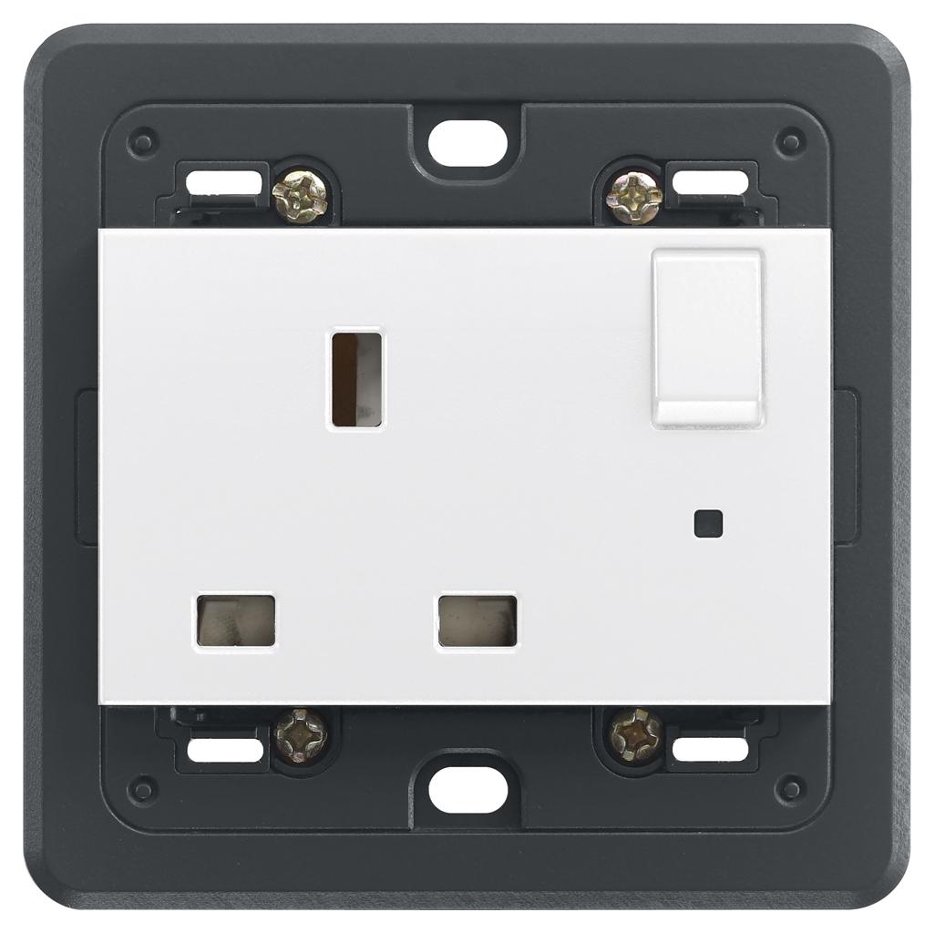 00206B S11/2P wei/ß Elektrischer/ /Stecker 250/V, 10/A VIMAR Ri