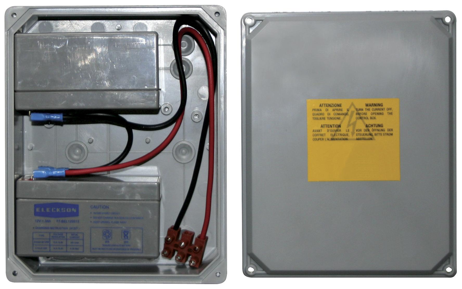 Control units: KLYS9CD rechrg. 24V Pb battery box - EBB1 - ELVOX ...