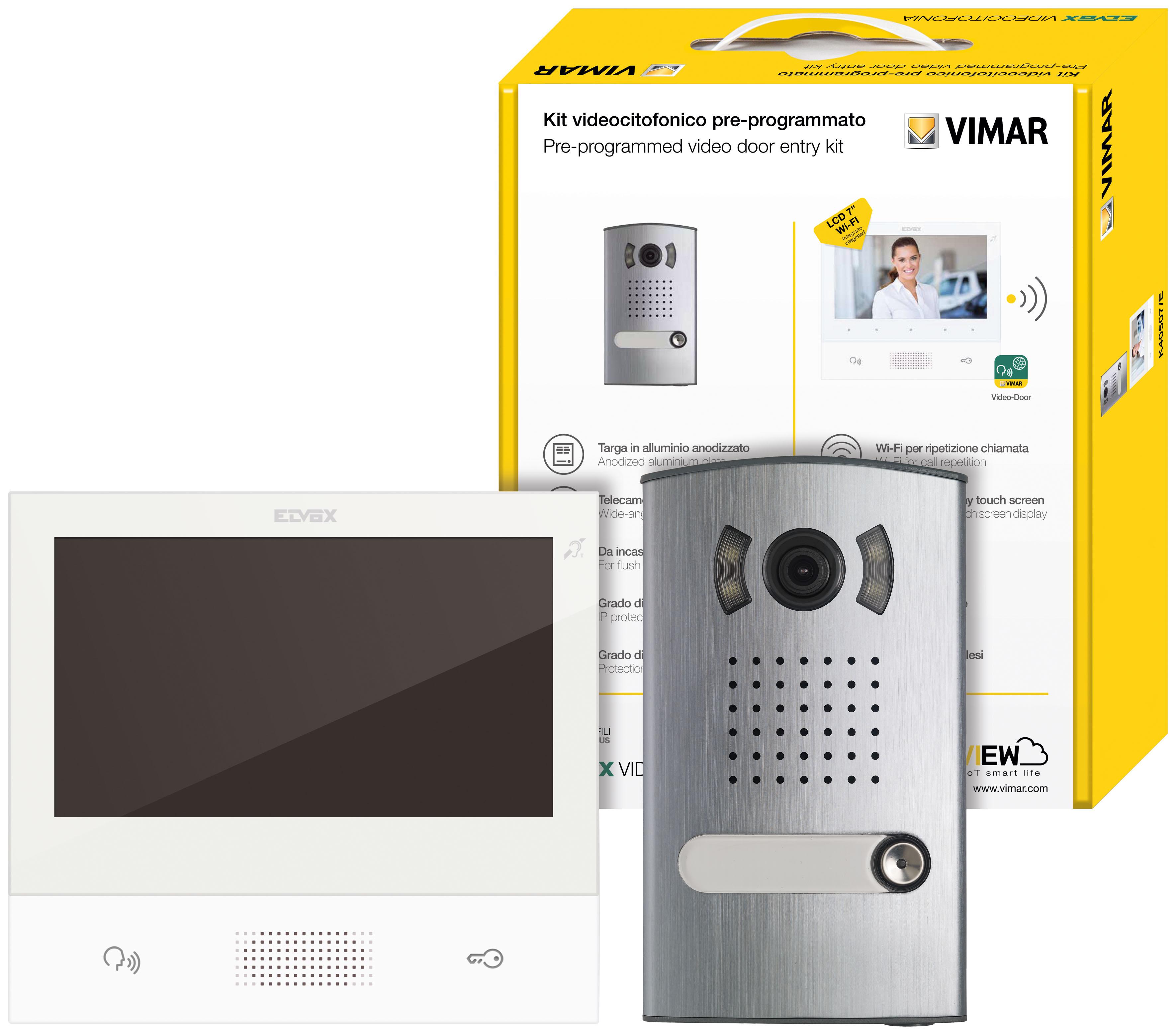 Product Catalogue - TAB VV Series + 1300E panel: Video kit 2F+ 1-Fam