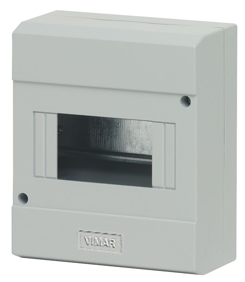 Gehäuse: AP-Gehäuse 6M IP40 grau - V50006 - Schaltkasten - Produkt ...