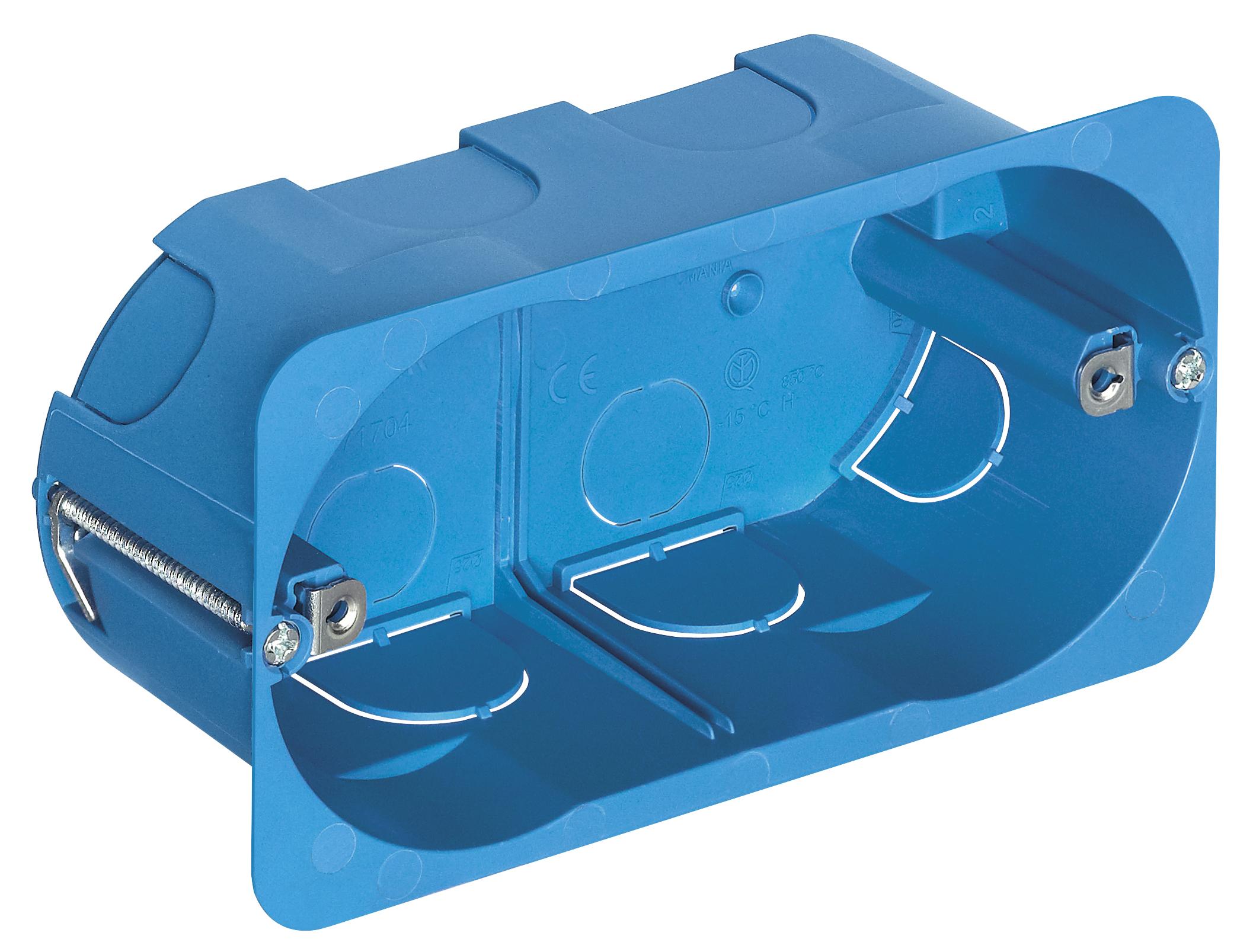 für hohlwand: unterputzdose 4m f/hohlwand hellblau - v71704